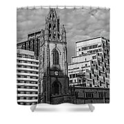 Church Of Our Lady And Saint Nicholas Liverpool Shower Curtain