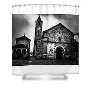 Church Of Santi Gervasio And Protasio Shower Curtain