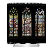 Church Of St. Barbara, Kuntna Hora, Czech Republic, Trilogy Shower Curtain