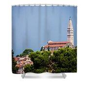 Church Of St. Euphemia Shower Curtain