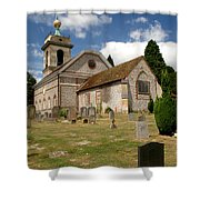 Church Of St. Lawrence West Wycombe 3 Shower Curtain