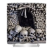 Church Of The Bones Shower Curtain