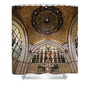 Church Of The Flagellation Shower Curtain