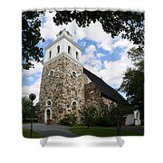 Church Of The Holy Cross At Rauma Shower Curtain