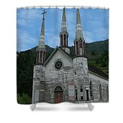 Church Of The Holy Cross Shower Curtain