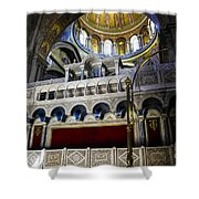 Church Of The Holy Sepulchre Interior Shower Curtain