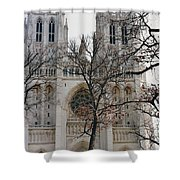 Church Of The Nation Shower Curtain