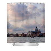 Church Of The Santissimo Redentore Shower Curtain