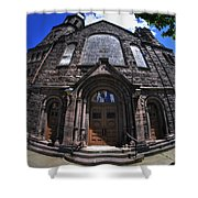 Church On Main St  Shower Curtain