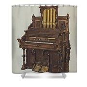 Church Organ Shower Curtain