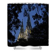 Church Steeples Shower Curtain