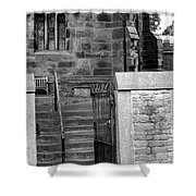Church Steps Shower Curtain