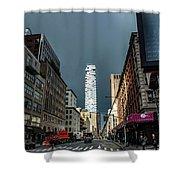 Church Street  Shower Curtain