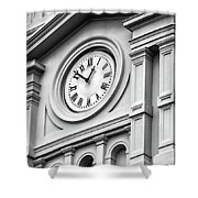 Church Time - St Louis Cathedral - New Orleans Shower Curtain