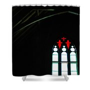 Church Windows Shower Curtain