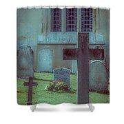 Church Yard Shower Curtain