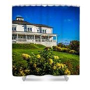 Churchill Mansion Inn Shower Curtain