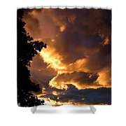 Churning Clouds 2 Shower Curtain