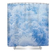 Churning Water Shower Curtain