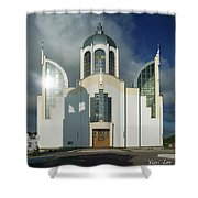 Church Of St. Peter And Paul, Ukraine Shower Curtain