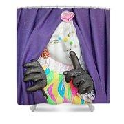 Chuuuttt   Shower Curtain