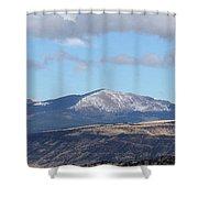 Cibola Mountains Shower Curtain