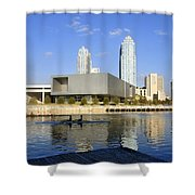 Cigar City Rowing Shower Curtain
