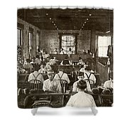 Cigar Factory, 1909 Shower Curtain by Granger