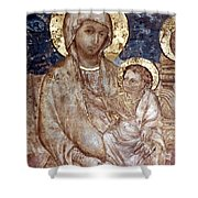 Cimabue: Madonna Shower Curtain