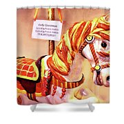 Cinnamon Shower Curtain