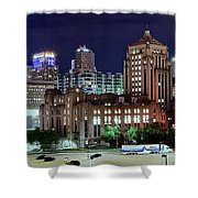 Cinci From The Opposite Side Shower Curtain