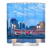 Cincinnati All Star Game  Shower Curtain