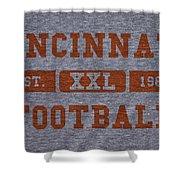 Cincinnati Bengals Retro Shirt Shower Curtain