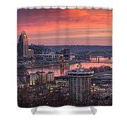 Cincinnati Devou Park Shower Curtain