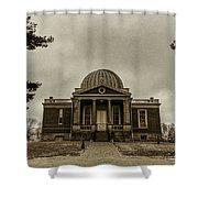Cincinnati Observatory Shower Curtain