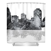 Cincinnati Ohio Skyline Shower Curtain