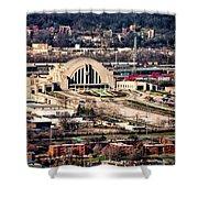 Cincinnati Union Terminal Shower Curtain