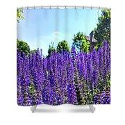 Cincy Flower Field Shower Curtain