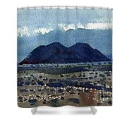 Cinder Cone Death Valley Shower Curtain