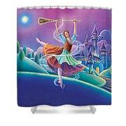 Cinderella Shower Curtain by Anne Wertheim