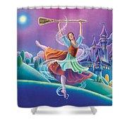 Cinderella Poster Shower Curtain