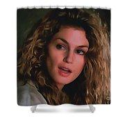 Cindy Crawford Shower Curtain