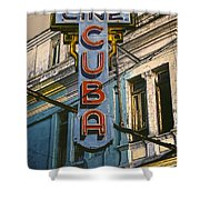 Cine Cuba Shower Curtain
