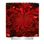 Cinnamon Candy Shower Curtain