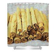 Cinnamon Sticks Shower Curtain