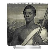 Cinque, The Chief Of The Amistad Captives Shower Curtain