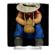 Cipote Shower Curtain