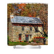 Circa 1776 Stone House Shower Curtain