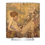 Circe And Anatol 1926 Shower Curtain