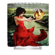 Circe, Greek Mythological Goddess Shower Curtain